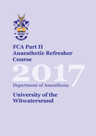 View FCA Part II Anaesthetic Refresher Course 2017