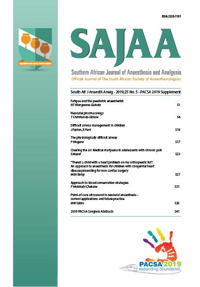 View PACSA 2019 Supplement